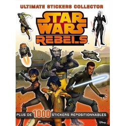 Star Wars Rebels - Plus de 1000 stickers repositionnables