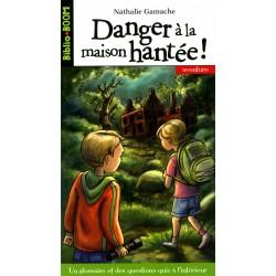 Biblio Boom Aventure - Olivier et Olivia - Danger à la maison hantée ! - Numéro 13