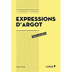 Expressions d'argot expliquées