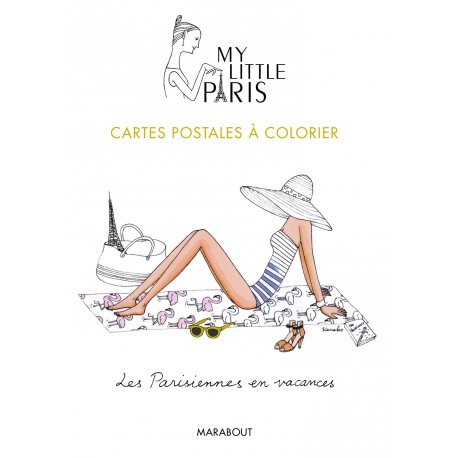 My Little Paris - Cartes postales à colorier