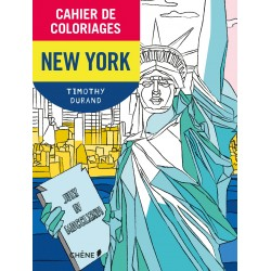 Cahier de coloriages - New-York