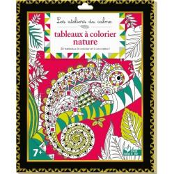 Les ateliers du calme - Tableaux à colorier nature - 31 tableaux à colorier et à encadrer !