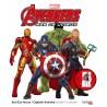 Avengers, Age of Ultron - Real Size Heroes, Captain America échelle 1 à colorier