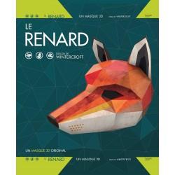 Le renard - Un masque 3D original