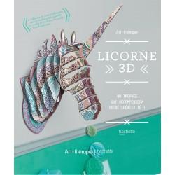 Art thérapie - Licorne 3D - Un trophée qui récompensera votre créativité !