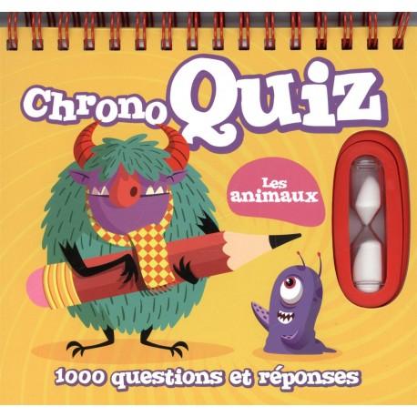 Chrono quiz - les animaux - 1000 questions et réponses