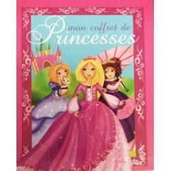 Coffret Mon coffret de princesses - Livres, pochoirs, autocollants, taille-crayon et crayons