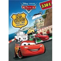 Cars - Mes colos avec des stickers