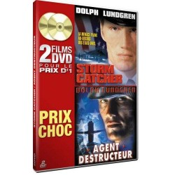 2 films DVD - Storm Catcher - Agent destructeur