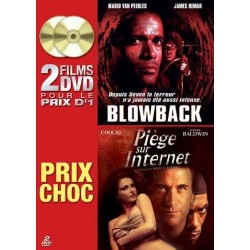 2 films DVD - Blowback - Piège sur Internet