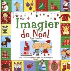 Mon imagier de Noël - Avec 5 sections d'apprentissages pour les tout-petits