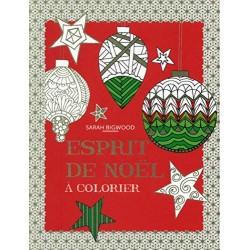 Esprit de Noël à colorier