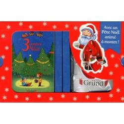 Mon coffret de Noël - 3 merveilleux contes de Noël avec un Père Noël animé à monter !
