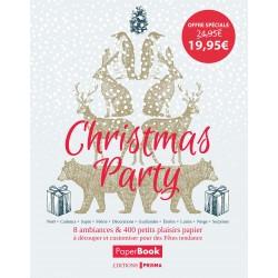 Christmas Party - 8 ambiances & 400 petits plaisirs papier à découper et customiser pour des fêtes tendance