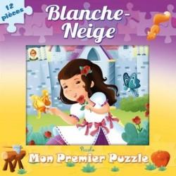 Blanche-Neige - Mon premier livre puzzle - 12 pièces