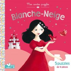 Mes contes puzzles - Blanche Neige - 5 puzzles de 9 pièces