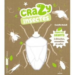 Crazy insectes - Insectes géants à détacher, assembler et coller