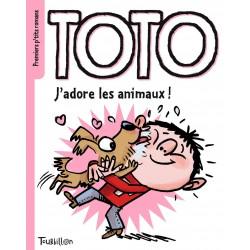 Premiers p'tits romans - Toto - Jadore les animaux