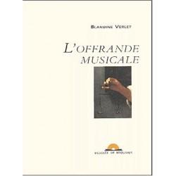 L'offrande musicale - Contient un CD gratuit