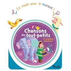 Chansons des tout-petits - 10 comptines enfantines ! En route pour la musique - 1CD audio