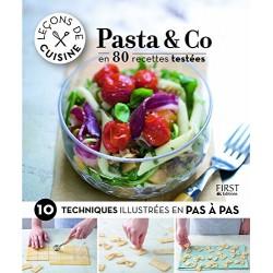 Leçons de cuisine - Pasta & Co en 80 recettes testées