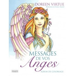 Messages de vos anges - Album de coloriage