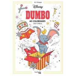 Art-Thérapie - Dumbo - 60 coloriages anti-stress