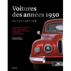 Voitures des années 1950 de collection