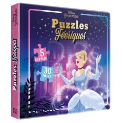 Disney Princesses - Puzzles féeriques - 5 puzzles, 30 pièces