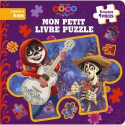Coco - Mon petit livre puzzle - 5 puzzles, 9 pièces