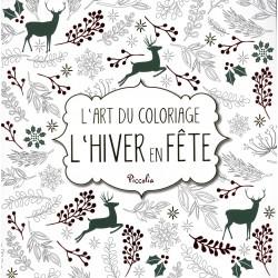 L'art du coloriage - L'hiver en fête