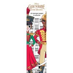 Casse-Noisette et les quatre royaumes - Disney - 50 marque-pages à colorier