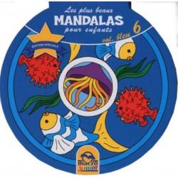 Les plus beaux mandalas pour enfants - Vol. bleu 6