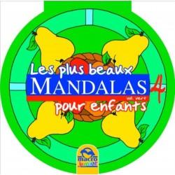 Les plus beaux mandalas pour enfants - Vol. Vert 4