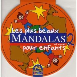 Les plus beaux mandalas pour enfants - Vol. Orange 2