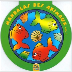 Mandalas des animaux - Vol. 1