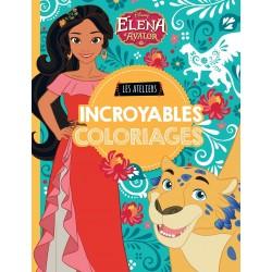Elena d'Avalor - Les ateliers - Incroyables coloriages