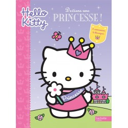 Hello kitty - Deviens une princesse ! - 2 coronnes à découper