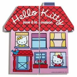 Hello Kitty joue à la maison - Livre magique - Ouvre, plie, replie et ouvre encore…