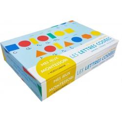 Les lettres codées - Mes jeux d'inspiration Montessori - Cartes sensorielles 5 - 9 ans