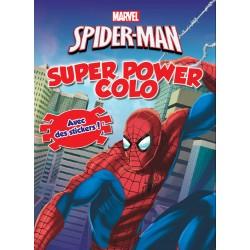 Spider-Man - Super Power Colo - Avec des stickers !