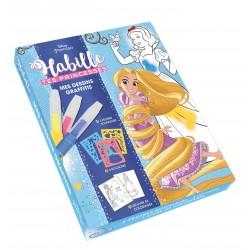 Coffret Habille tes princesses - Mes dessins graffitis