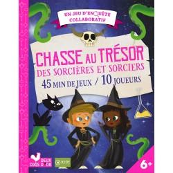 Un jeu d'enquête collaboratif - Chasse au trésor des sorcières et sorciers - 45 min de jeux - 10 joueurs