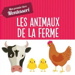 Mon premier livre Montessori - Les animaux de la ferme