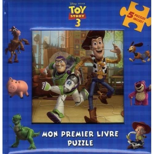 Toy story 3 - Mon premier livre puzzle
