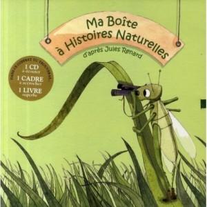 Ma Boîte a Histoires Naturelles avec 1 CD audio
