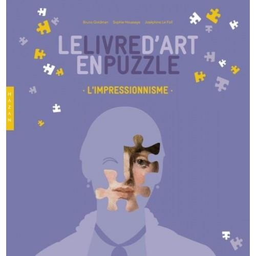 Le livre d'art en puzzle - L'impressionnisme