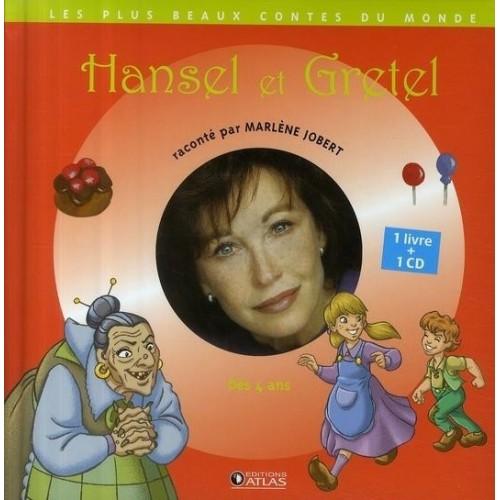 Hansel et Gretel - 1 livre + 1 CD (audio)