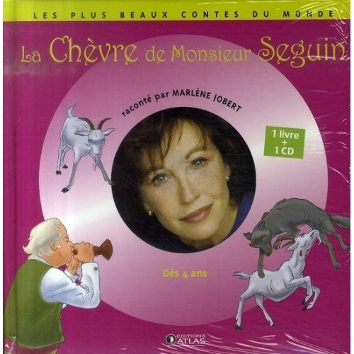 La chèvre de Monsieur Seguin - 1 livre + 1 CD (audio)