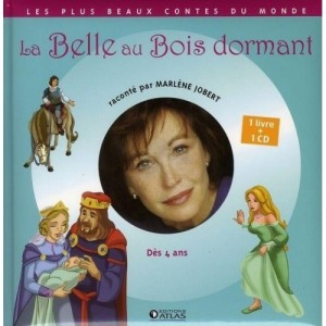 La Belle au Bois dormant - 1 livre + 1 CD (audio)